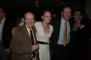 John Normugton, Emma Cunliffe and Kevin Spacey, The Entertainer - press night at the Old Vic afterparty at The Baltic,  Blackfriars Road, London, SE1.  50th anniversary production of John Osborne play. 7 March 2007. -DO NOT ARCHIVE-© Copyright Photograph by Dafydd Jones. 248 Clapham Rd. London SW9 0PZ. Tel 0207 820 0771. www.dafjones.com.