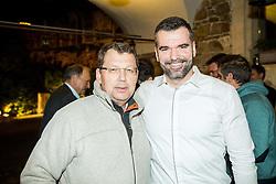 Dimitrij Mancevic at Official retirement of World records holder swimmer Peter Mankoc, on November 25, 2016 in Ljubljanski grad, Ljubljana, Slovenia. Photo by Vid Ponikvar / Sportida