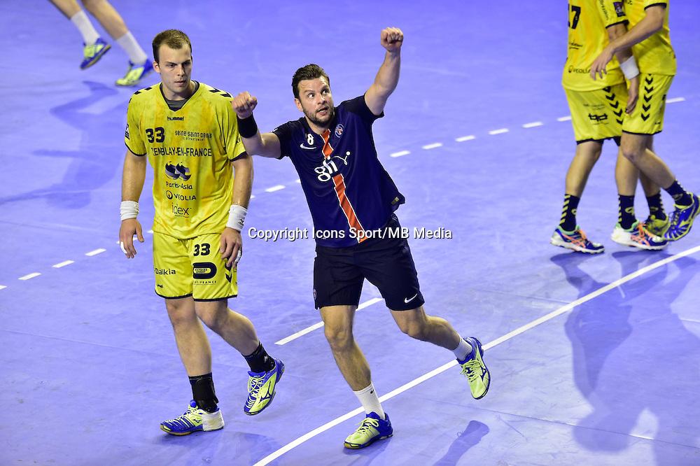 Joie Robert GUNNARSSON - 04.06.2015 - Tremblay en France / Paris Saint Germain - 26eme journee de Division 1  -Beauvais<br />Photo : Dave Winter / Icon Sport