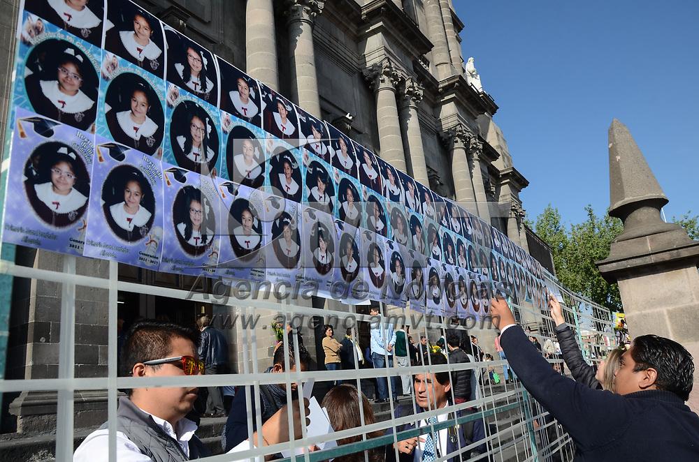 TOLUCA, México (Julio 21, 2017).- La Asociación de Fotógrafos Profesionales del Estado de México agrupa actualmente a más de 180 miembros, quienes cada semana laboran principalmente en iglesias, y eventos de fin del ciclo escolar. Agencia MVT / Arturo Hernández.