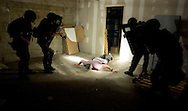 York County Quick Response Team (QRT) officer down and vehicle tactics training..2007.John A. Pavoncello/Pho-tac.com