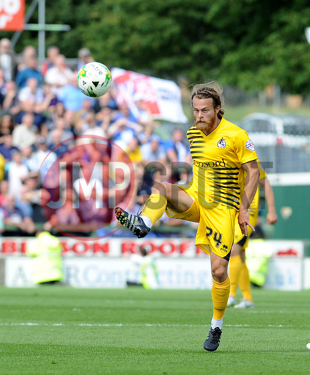 Stuart Sinclair - Mandatory byline: Neil Brookman/JMP - 07966386802 - 15/08/2015 - FOOTBALL - Huish Park -Yeovil,England - Yeovi Town v Bristol Rovers - Sky Bet League One