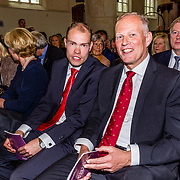 NLD/Naarden//20170414 - Matthaus Passion in de grote kerk van Naarden, Burgemeester Han ter Heegde