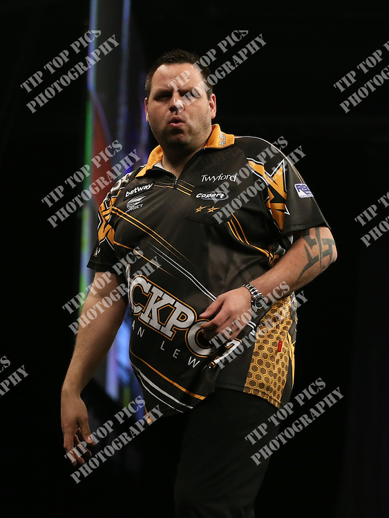 PDC PREMIER LEAGUE DARTS 2016, DARTS, EXETER, PDC,PHIL TAYLOR, ADRIAN LEWIS, TIPTOPPICS.COM<br /> PHOTO:CHRIS SARGEANT