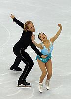 Photo: Catrine Gapper.<br /> Winter Olympics, Turin 2006. Figure Skating, Pairs, Short Program. 11/02/2006.