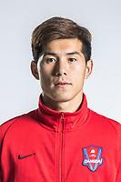 **EXCLUSIVE**Portrait of Chinese soccer player Zeng Shuai of Chongqing Dangdai Lifan F.C. SWM Team for the 2018 Chinese Football Association Super League, in Chongqing, China, 27 February 2018.