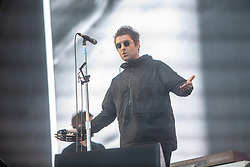 Liam Gallagher headlines the main stage on Saturday 30th June at TRNSMT 2018.