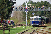 "Strasshof, Austria.<br /> Opening of the season at Das Heizhaus - Eisenbahnmuseum Strasshof, Lower Austria's newly designated competence center for railway museum activities.<br /> ÖBB 5081 ""Schienenbus (Rail Bus)"", 1964-1967."