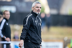 Alloa Athletic's manager Jim Goodwin. Athletic 4 v 3 Brechin City (Brechin won 5-4 on penalties), Ladbrokes Championship Play-Off 2nd Leg at Alloa Athletic's home ground, Recreation Park, Alloa.