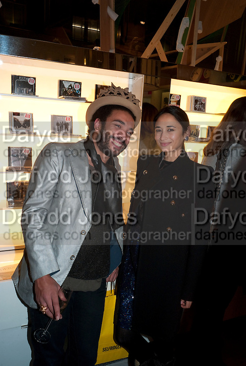 ANDREW IBI; Hannah Bhuiya, The Nineties are Vintage. Concept Store, Rellik and Workit. The Wonder Room. Selfridges. Oxford St. London. 7 January 2010.
