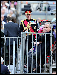 The head of the British armed forces General Sir David Richards attends the Queen's Trooping of the Colour, The Queen's Birthday Parade, at  Horse Guards Parade, Saturday June 16, 2012. Photo by Andrew Parsons/i-Images..All Rights Reserved ©Andrew Parsons/i-Images .See Special Instructions