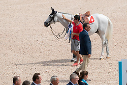 Fuchs Martin, SUI, Clooney<br /> World Equestrian Games - Tryon 2018<br /> © Hippo Foto - Dirk Caremans<br /> 23/09/2018
