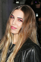 © Licensed to London News Pictures. Amber Le Bon attending the London Evening Standard Theatre Awards at the The Savoy Hotel in London, UK on 17 November 2013. Photo credit: Richard Goldschmidt/PiQtured/LNP
