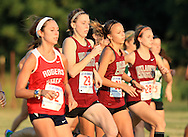 September 7, 2013: The Oklahoma Christian University Eagles women's cross country team participates in the UCO Land Run at Santa Fe High School in Edmond, OK.