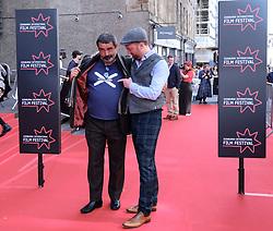 Edinburgh International Film Festival 2019<br /> <br /> Mrs Lowry (UK Premiere, closing night gala)<br /> <br /> Pictured: Angus MacFadyen and Richard Grey<br /> <br /> Aimee Todd | Edinburgh Elite media