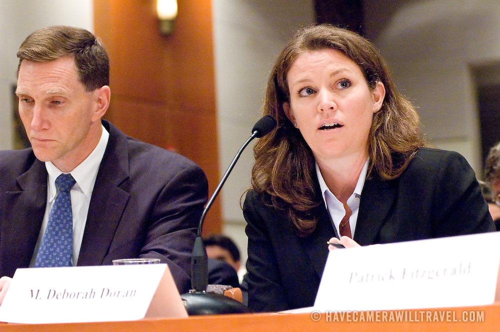 "Ms. Mary Deborah Doran, Special Agent, FBI. Panel: Al Qaeda. The 9/11 Commission's 12th public hearing on ""The 9/11 Plot"" and ""National Crisis Management"" was held June 16-17, 2004, in Washington, DC."