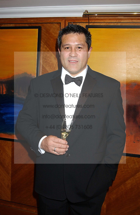 Rugby player ZINZAN BROOKE at the annual SPARKS Winter Ball in the presence of HRH Princess Michael of Kent held at the London Hilton Hotel, Park Lane, London W1 on 15th December 2005.<br />