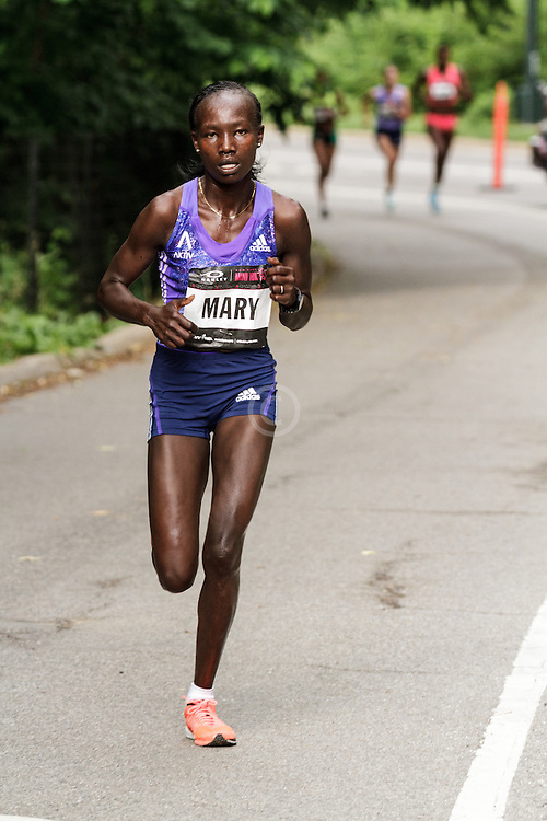 NYRR Oakley Mini 10K for Women: Mary Keitany, Kenya, adidas