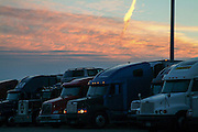 Trucking along American Highways