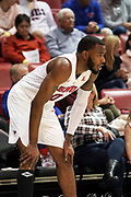 SMU Mustangs guard Tyson Jolly (0) waits in the corner for the offense to develop against the Hartford Hawks during an NCAA college basketball game, Wednesday, Nov. 27, 2019, in Dallas.SMU defeated Hartford 90-58. (Wayne Gooden/Image of Sport)