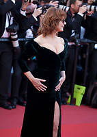 Susan Sarandon at the opening ceremony and Ismael's Ghosts (Les Fantômes D'ismaël) gala screening,  at the 70th Cannes Film Festival Wednesday May 17th 2017, Cannes, France. Photo credit: Doreen Kennedy