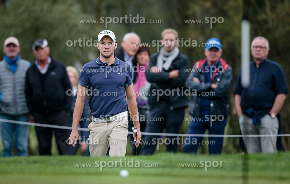 26.09.2015, Beckenbauer Golf Course, Bad Griesbach, GER, PGA European Tour, Porsche European Open, im Bild Maximilian Kieffer (GER) // during the European Tour, Porsche European Open Golf Tournament at the Beckenbauer Golf Course in Bad Griesbach, Germany on 2015/09/26. EXPA Pictures © 2015, PhotoCredit: EXPA/ JFK