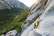 Blake Summers on Kermit's Wad 5.10a, Kermit's Wall, Little Cottonwood Canyon, Utah