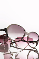 Sunglasses in studio