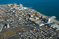 Aerial view of Atlantic City, New jersey