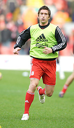 LIVERPOOL, ENGLAND - Sunday, December 2, 2007: Liverpool's Harry Kewell before the Premiership match against Bolton Wanderers at Anfield. (Photo by David Rawcliffe/Propaganda)