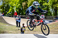 #99 (GEORGE Danielle) USA at Round 4 of the 2019 UCI BMX Supercross World Cup in Papendal, The Netherlands