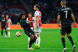 13-08-2019 NED: UEFA Champions League AFC Ajax - Paok Saloniki, Amsterdam<br />  Ajax won 3-2 and they will meet APOEL in the battle for a group stage spot / Daley Blind #17 of Ajax, Diego Biseswar #21 of PAOK