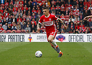 Muhamed Bešić of Middlesbrough during the EFL Sky Bet Championship match between Middlesbrough and Aston Villa at the Riverside Stadium, Middlesbrough, England on 12 May 2018. Picture by Paul Thompson.