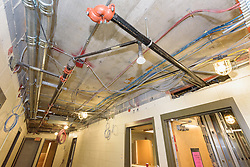 Major Renovation Litchfield Hall WCSU Danbury CT<br /> Connecticut State Project No: CF-RD-275<br /> Architect: OakPark Architects LLC  Contractor: Nosal Builders<br /> James R Anderson Photography New Haven CT photog.com<br /> Date of Photograph: 28 November 2016<br /> Camera View: 14