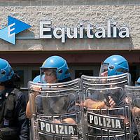 Manifestazioni contro Equitalia