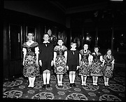 Sound of Music Cast at The Gaiety.16/04/1970<br />