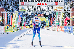 20.01.2019, Loipe Obertilliach, AUT, 45. Dolomitenlauf, Freestyle, im Bild 1. Platz Toni Levers (SUI, 42km) // during the 45th Dolomitenlauf Freestyle race at Obertilliach, Austria on 2019/01/20, EXPA Pictures © 2019 PhotoCredit: EXPA/ Dominik Angerer