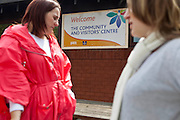 HMP Nottingham visitors centre run by the Prison Advice and Care Trust, PACT.