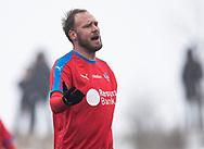 FODBOLD: Andreas Granqvist (Helsingborgs IF) under træningskampen mellem Helsingborgs IF og FC Helsingør den 26. januar 2019 på Vikvalla i Viken, Sverige Foto: Claus Birch