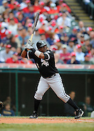 Juan Uribe.<br /> The Cleveland Indians defeated the Chicago White Sox Monday, March 31 at Progressive Field in Cleveland. The Indians defeated the White Sox 10-8.