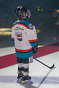 KELOWNA, CANADA - MARCH 17:  Pepsi Player of the game at the Kelowna Rockets game on March 17, 2017 at Prospera Place in Kelowna, British Columbia, Canada.  (Photo By Cindy Rogers/Nyasa Photography,  *** Local Caption ***