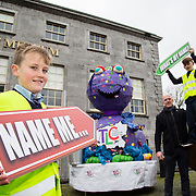 21.02.2017      <br /> Team Limerick Clean-Up is inviting the people of Limerick to get involved in an exciting competition to &lsquo;Name the TLC3 Litter Monster&rsquo;. Paul O&rsquo;Connell was joined by pupils from Bruree National School and representatives from the JP McManus Benevolent Fund at the Hunt Museum to announce details of the competition. <br /> <br /> Attending the event and helping launch the initiative were pupils from Bruree National School, Niall Tobin, 11 and Daniel Scully, 12 with Paul O'Connell. Picture: Alan Place