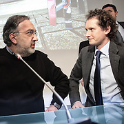 Sergio Marchionne,.chief executive officer of Fiat SpA and Chrysler Group LLC