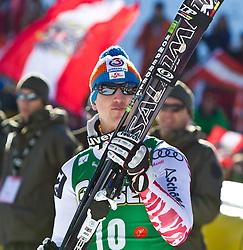 05.02.2011, Hannes-Trinkl-Strecke, Hinterstoder, AUT, FIS World Cup Ski Alpin, Men, Hinterstoder, Super-G, im Bild Sieger Hannes REICHELT (AUT) // Hannes REICHELT (AUT) winner during FIS World Cup Ski Alpin, Men, Super-G in Hinterstoder, Austria, February 05, 2011, EXPA Pictures © 2011, PhotoCredit: EXPA/ J. Feichter