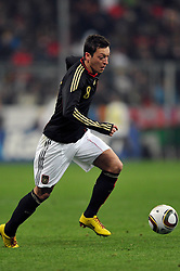 03.03.2010, Allianz Arena Muenchen, Muenchen, GER,  Laenderspiel Deutschland ( GER ) - Argentinien ( ARG ) 0 - 1. Im Bild Mesut Oezil ( GER / Bremen #08 ). EXPA Pictures © 2010, PhotoCredit: EXPA/ nph/  Kurth / for Slovenia SPORTIDA PHOTO AGENCY.