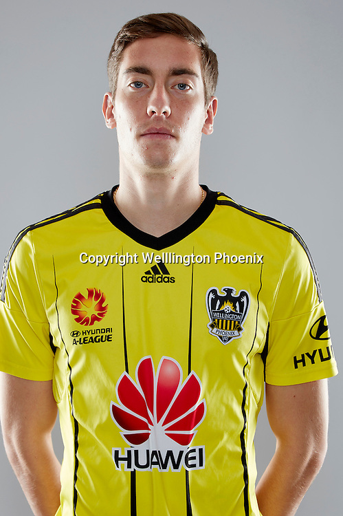 Alex Rodriguez.<br /> Headshots of the Wellington Phoenix Football team for the Hyundai A-League 2016-17 season.