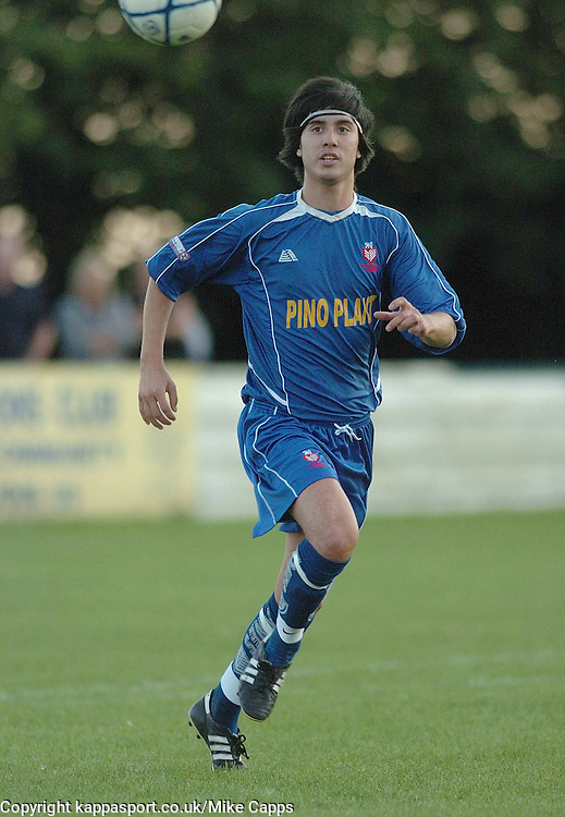 MICHAEL BOYLE CHUNG, Rothwell, Rothwell Town-Kettering Town, Newlands Trophy Cecil Street, 2007/08, 7/8/2007