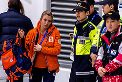 22-02-2018 KOR: Olympic Games day 13, PyeongChang<br /> Short Track Speedskating / Support publiek, Oranje, Sonya