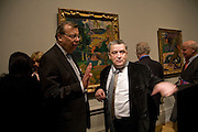 HE THE RUSSIAN AMBASSADOR YURI VIKTOROVICH FEDETOV AND NORMAN ROSENTHALL, SECRETARY OF STATE DEPT. CULTURE, MEDIA AND SPORT. Opening of 'From Russia' Royal Academy of arts. Picadilly. London. 22 January 2008. -DO NOT ARCHIVE-© Copyright Photograph by Dafydd Jones. 248 Clapham Rd. London SW9 0PZ. Tel 0207 820 0771. www.dafjones.com.