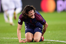 March 6, 2018 - Paris, U.S. - CAVANI Edinson (PSG)  during the Champions League match Real Madrid at Paris Saint-Germain on March 6, 2018 in Paris, France. (Photo by JB Autissier/Panoramic/Icon Sportswire) ****NO AGENTS---NORTH AND SOUTH AMERICA SALES ONLY****NO AGENTS---NORTH AND SOUTH AMERICA SALES ONLY* (Credit Image: © Jb Autissier/Icon SMI via ZUMA Press)